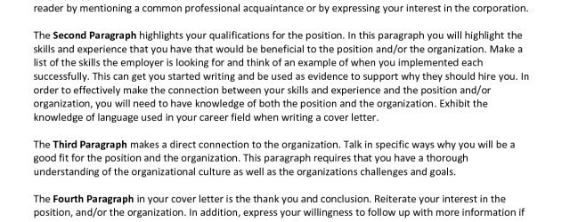 Cover Letter Opening Cover Letter Introduction Paragraph Sample Ukranpoomarco