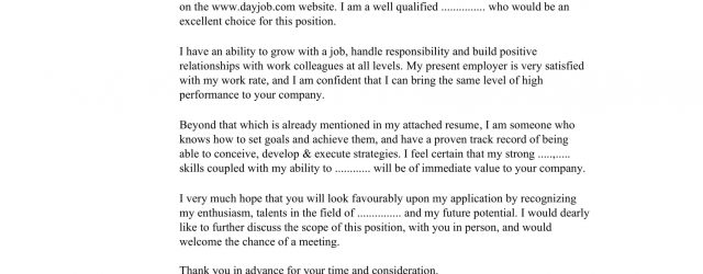 Good Cover Letter 32 Best Sample Cover Letter Examples For Job Applicants Wisestep