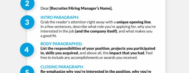 How To Write A Good Cover Letter Write The Perfect Cover Letter With This Template Glassdoor Blog