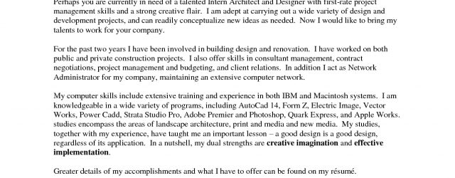 Architecture Cover Letter Architectural Cover Letter Ukranpoomarco