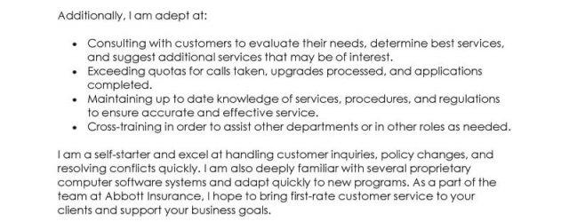 Customer Service Representative Cover Letter Best Customer Service Representative Cover Letter Examples Livecareer
