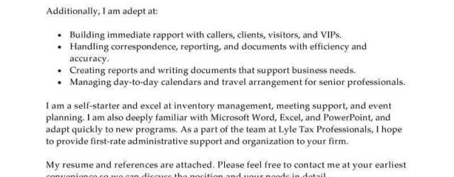 Examples Of Cover Letters For Resume Free Cover Letter Examples For Every Job Search Livecareer