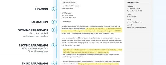 How To Cover Letter How To Write A Cover Letter In 8 Simple Steps 12 Examples