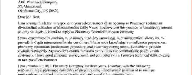 Pharmacy Technician Cover Letter Pharmacy Technician Cover Letter No Experience Clotrimazolhandk