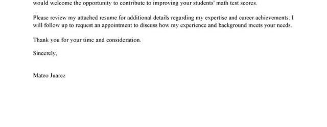 Sample Cover Letter For Teacher Leading Professional Teacher Cover Letter Examples Resources