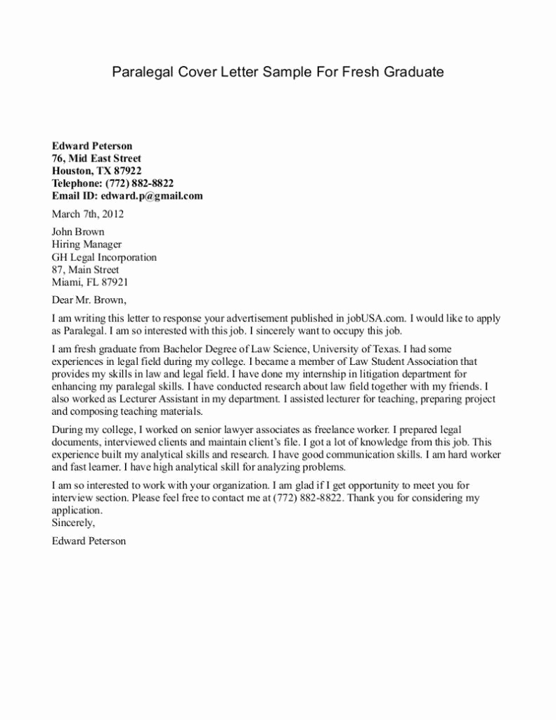Sample Cover Letters Cover Letter For Graduate Teaching Assistant Position Graduate