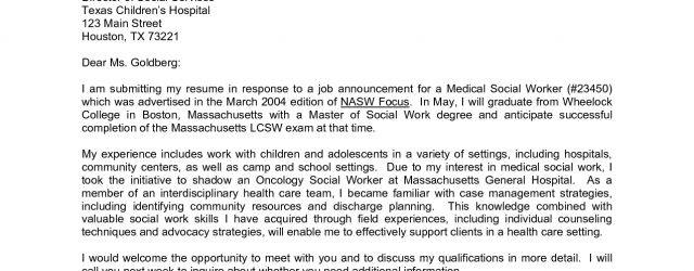 Sample Cover Letters For Employment Writing A Cover Letter For Employment Zorocreostoriesco